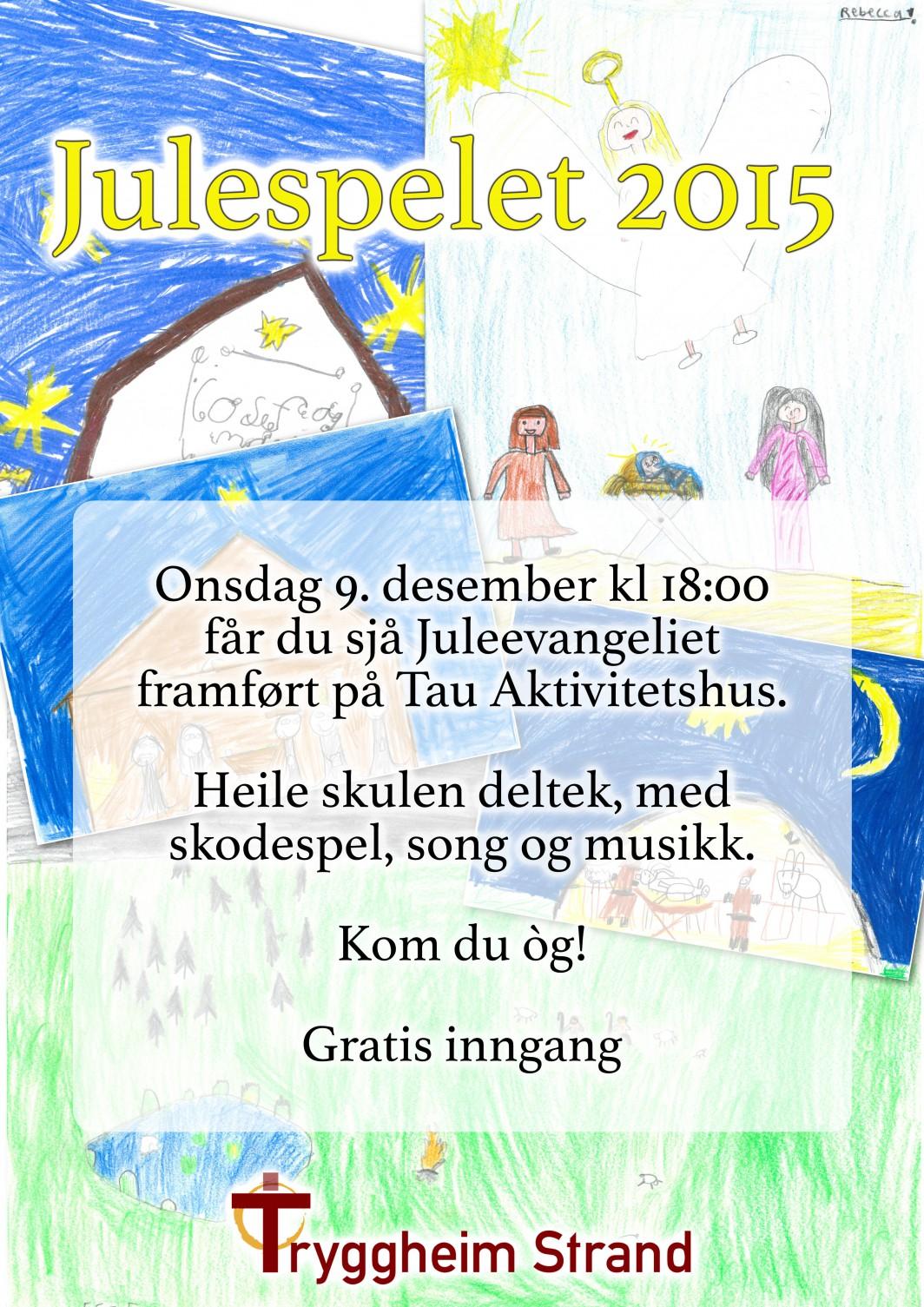 Plakat Julespelet 2015 TrS